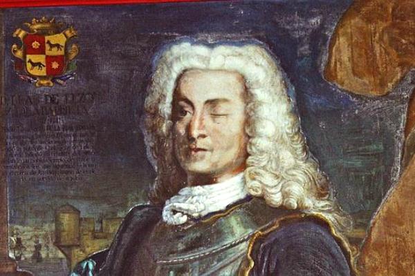 El almirante español Blas de Lezo.