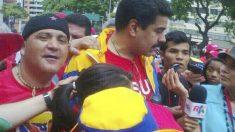 Andrés Bódalo fotografiado junto a Nicolás Maduro (Foto: Facebook)