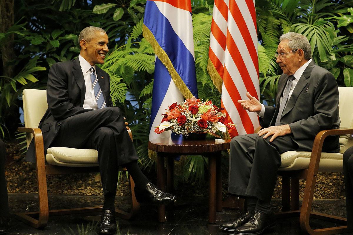 Raúl Castro y Barack Obama. (Foto: Reuters)