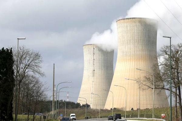 Imagen de la central nuclear de Charleroi (Foto: Reuters).