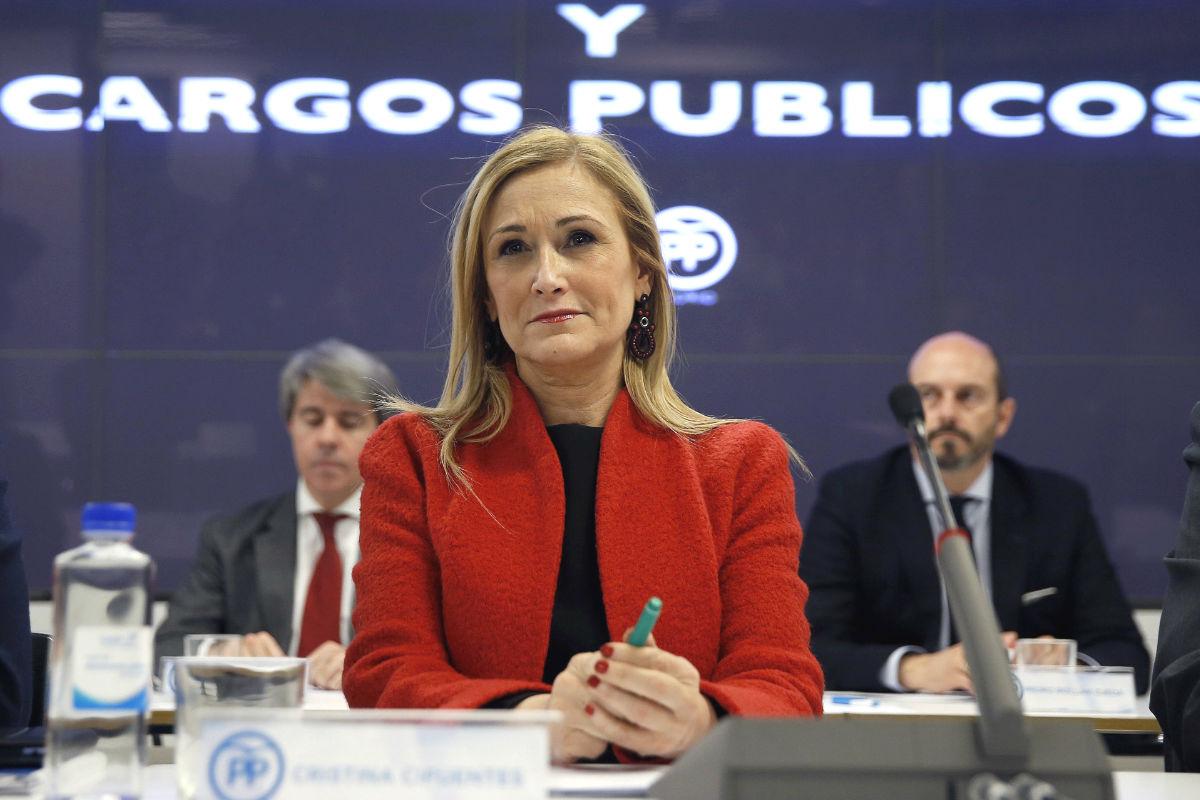 La presidenta de la Comunidad de Madrid, Cristina Cifuentes (Foto: Efe)