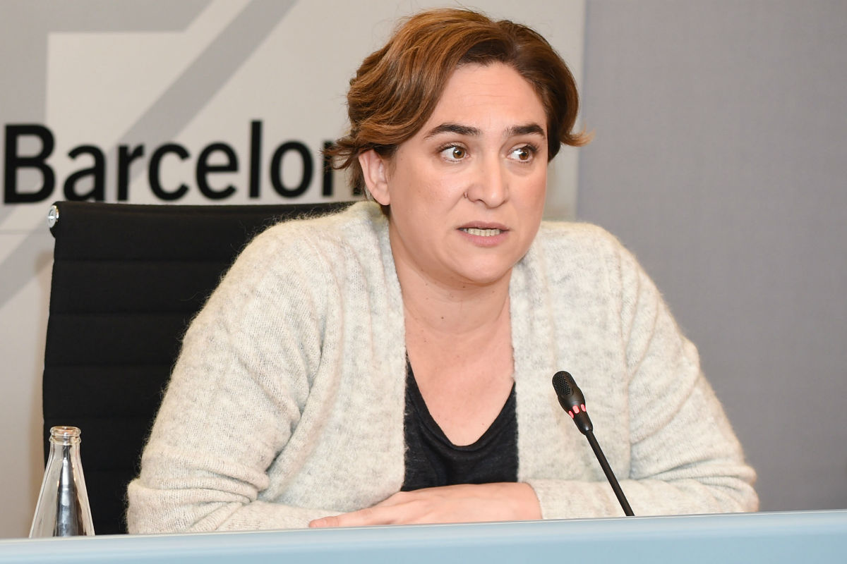 Ada Colau. (Foto: EFE)