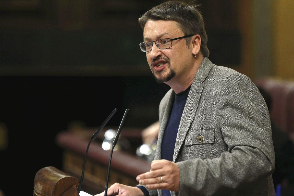 El portavoz de En Comú, Xavier Domènech (Foto: Efe)