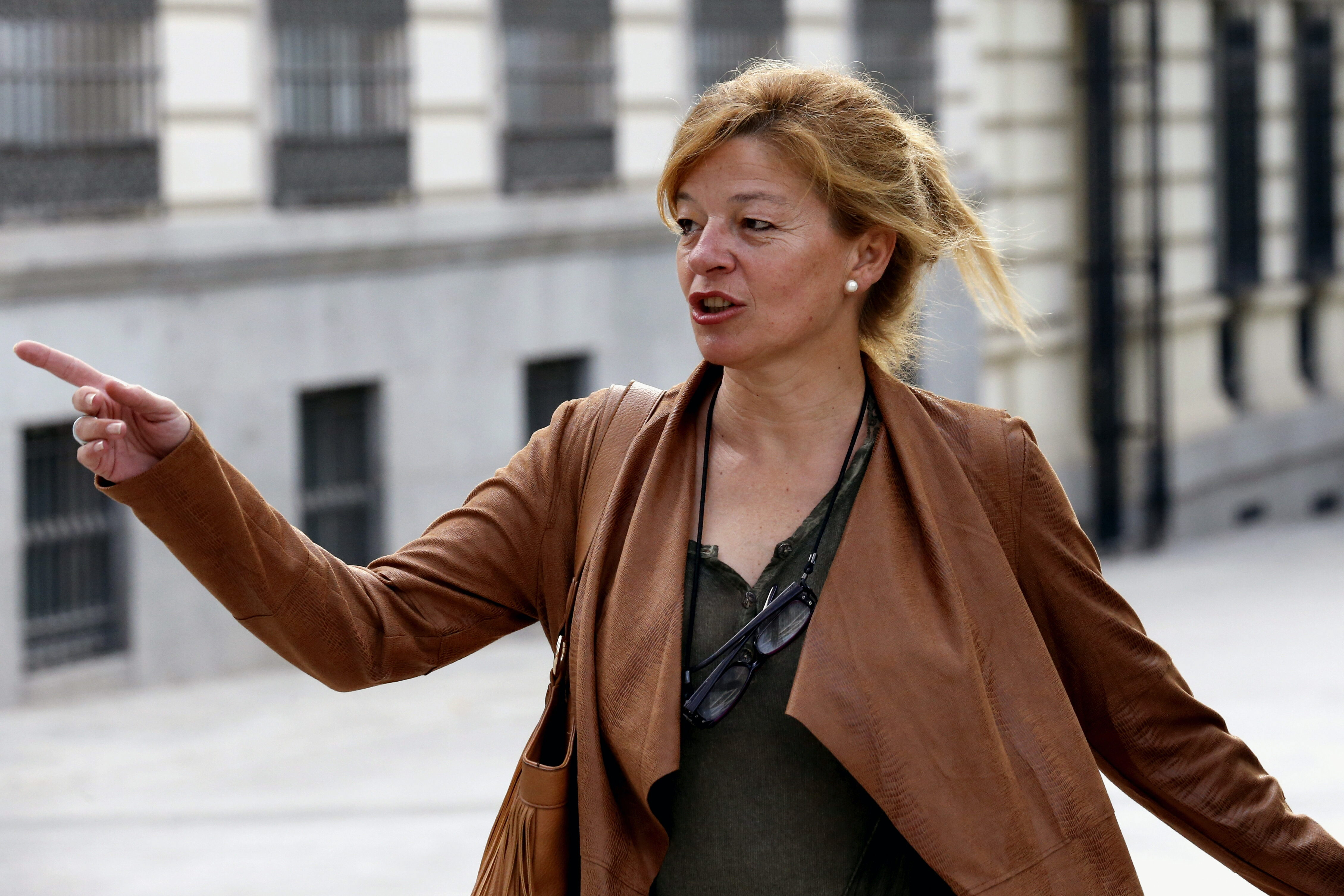 Ana Garrido, testigo de la Fiscalía en el caso Gürtel (EFE).