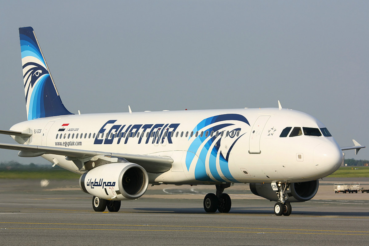 Un A320 de la compañía egipcia Egyptair.