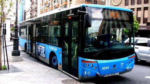 Un autobus de la EMT de Madrid.