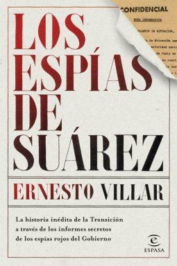 Portada de 'Los espías de Suárez'.