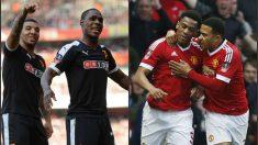 Martial e Ighalo, goleadores en la FA Cup. (Reuters)