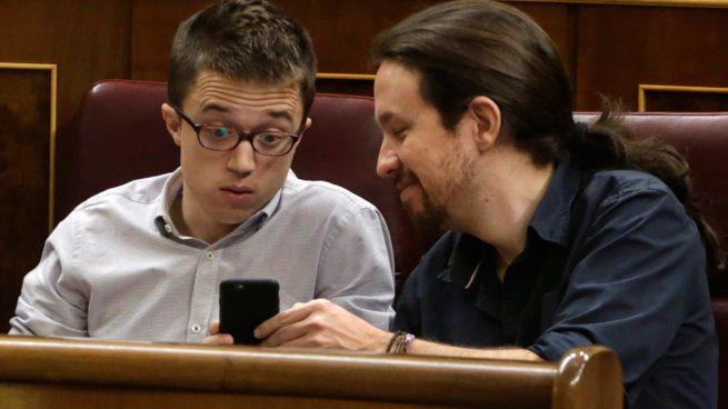 Pablo Iglesias e Íñigo Errejón (Foto: EFE)