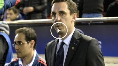 El Valencia ha despedido a Gary Neville. (AFP)