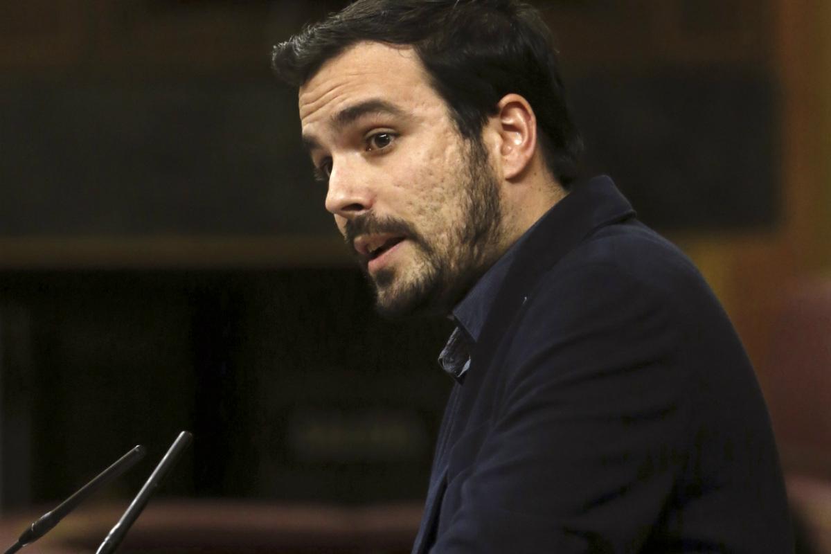 Alberto Garzón (Foto:EFE)