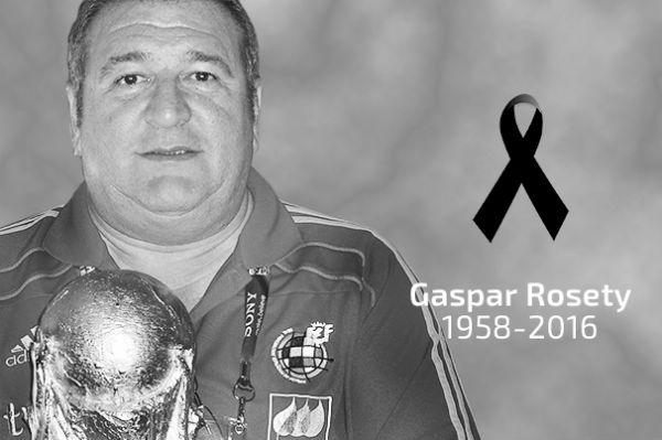 Gaspar Rosety falleció a los 57 años de edad. (Imagen: rfef.es)