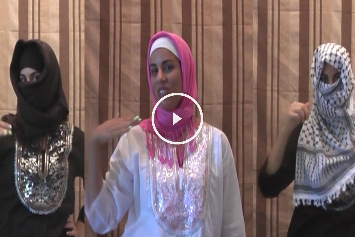Las 'Gaza Girls', cantando «matar a todos los judíos».
