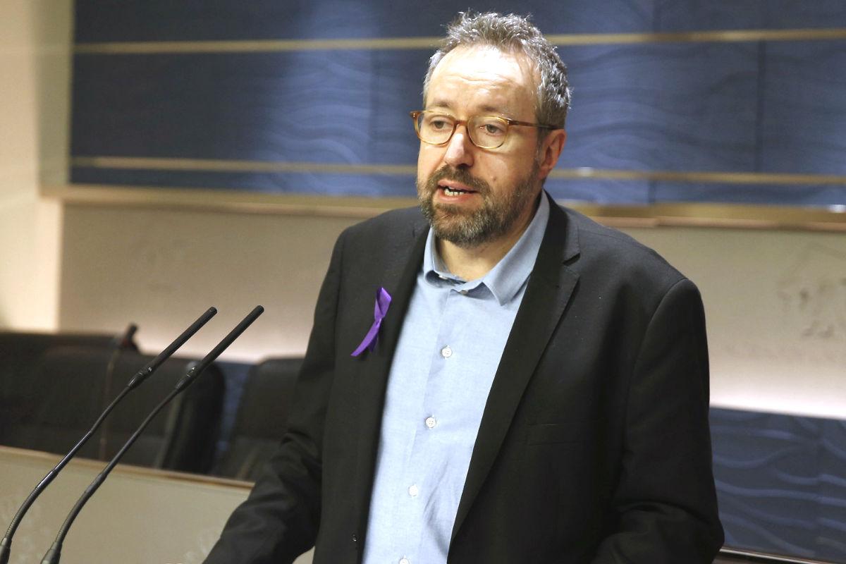 El portavoz de Ciudadanos en el Congreso, Juan Carlos Girauta (Foto: Efe)