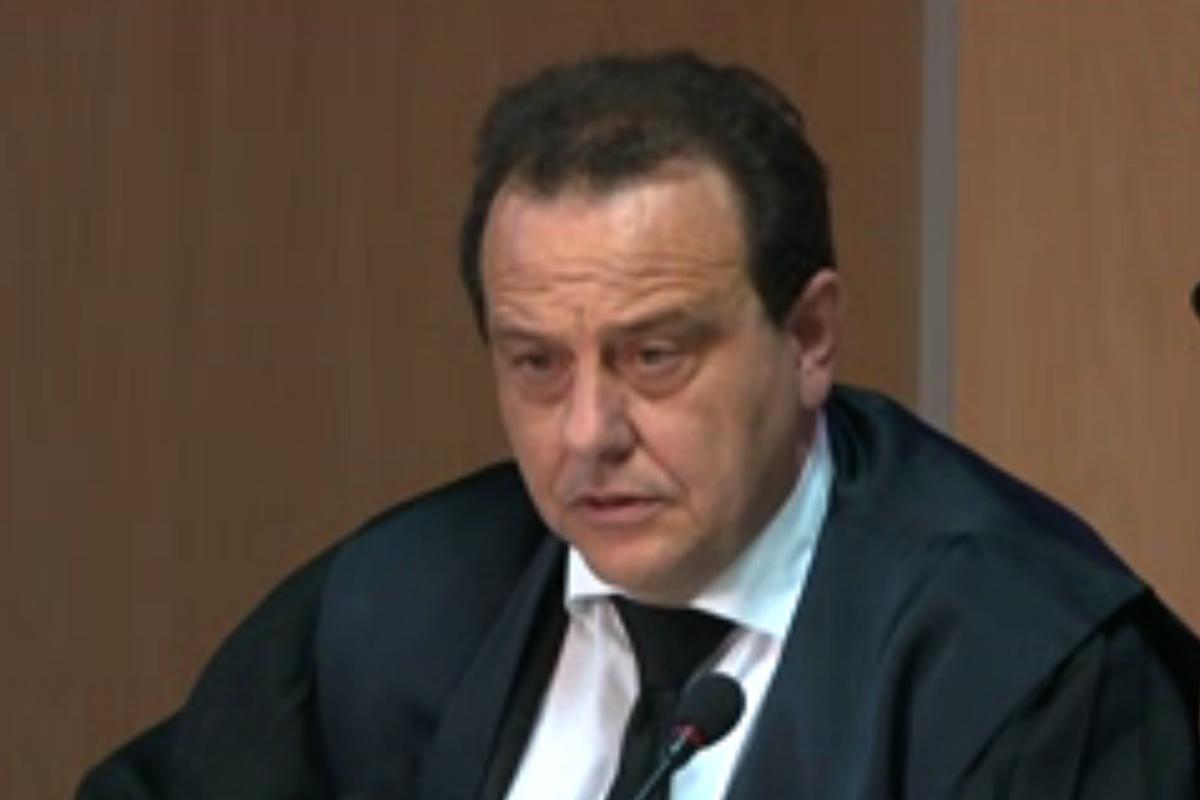 El fiscal Anticorrupción Pedro Horrach, durante el interrogatorio a Tejeiro.