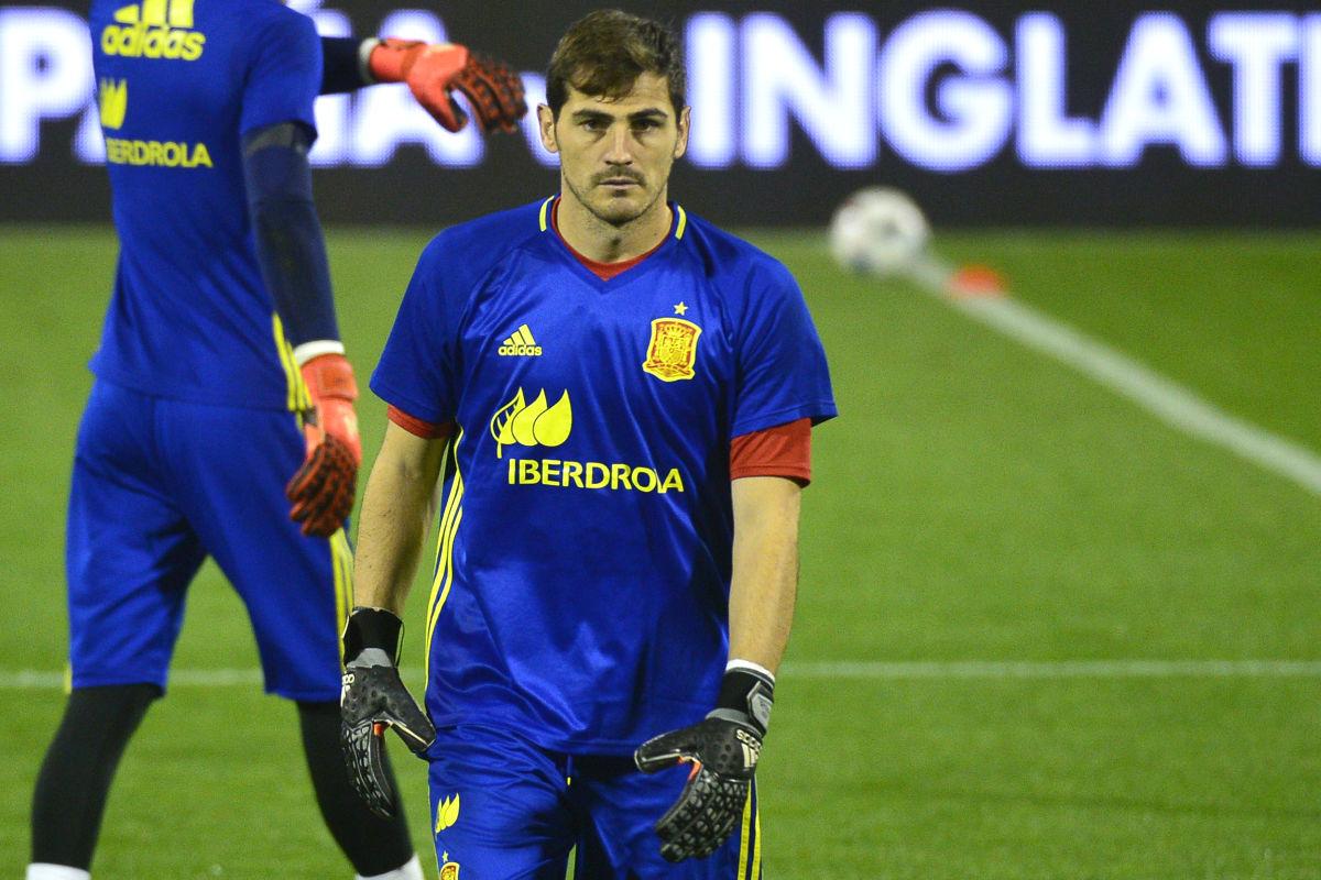 Casillas bate el récord de Europa de partidos con la selección. (AFP)