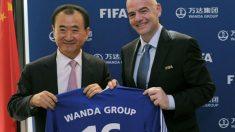 Infantino y Wanda anunciaron el acuerdo de patrocinio. (FIFA.com)