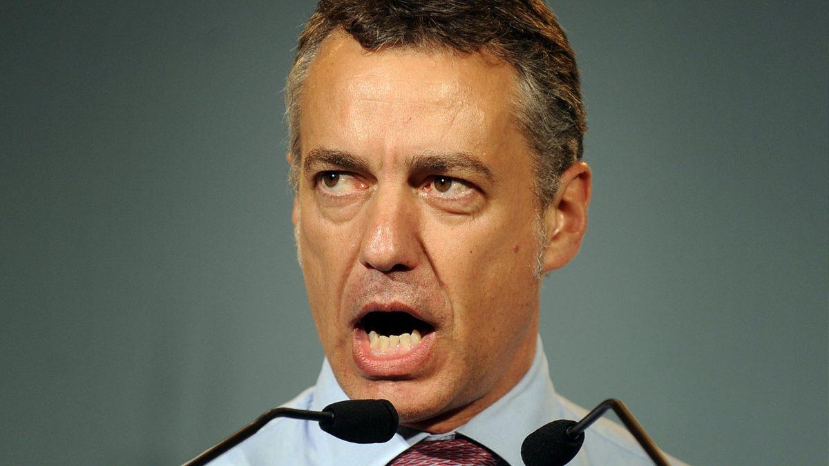 Iñigo Urkullu. (Foto: AFP)