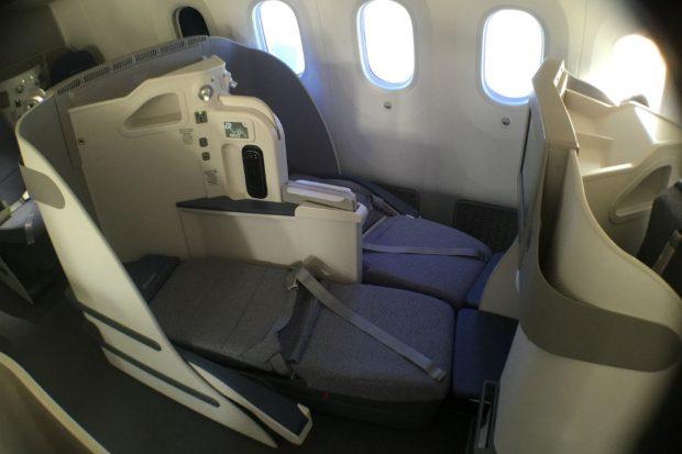 Clase Business del Boeing 787 Dreamliner de Air Europa (Foto: GLOBALIA).