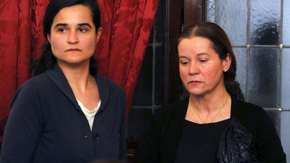 Monserrat González y Triana Martínez. (Foto: EFE)