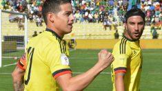 James Rodríguez brilló ante Bolivia. (AFP)