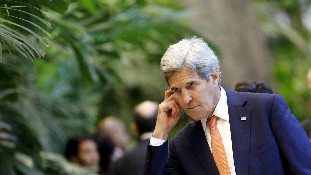 John Kerry, este lunes en La Habana. (Reuters)