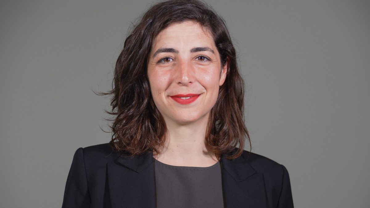 Laura Pérez, ex secretaria de Podemos en Navarra expulsada. (Foto: Podemos Navarra)