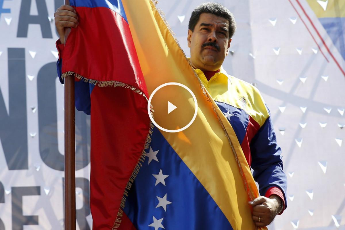 Nicolás Maduro, este sábado en Caracas. (Reuters)