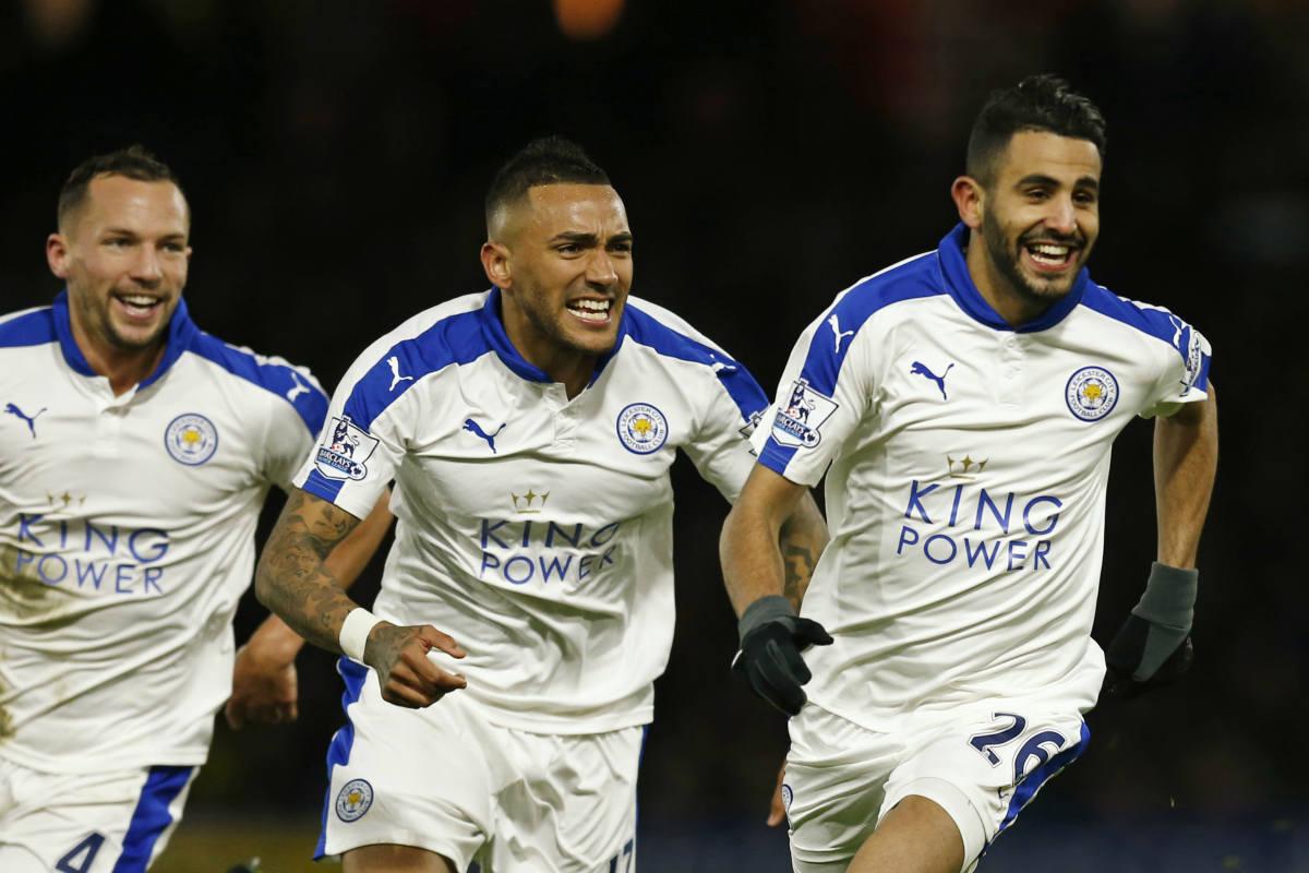Mahrez dio la victoria al Leicester ante el Watford. (Reuters)