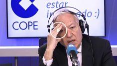 El ministro de Asuntos Exteriores, José Manuel García-Margallo en la Cope