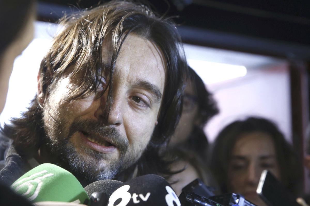 El diputado de Podemos Rafael Mayoral (Foto: Efe)