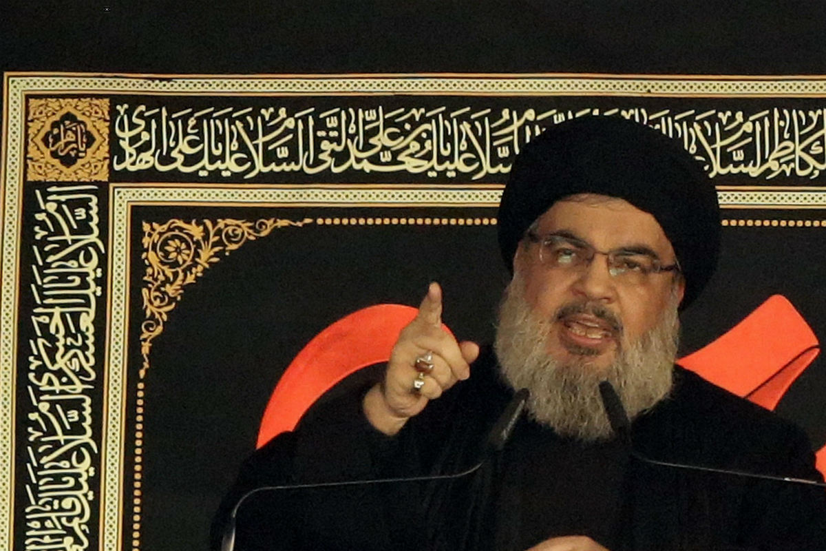 Hasan Nasralah, líder de Hizbula. (Getty)