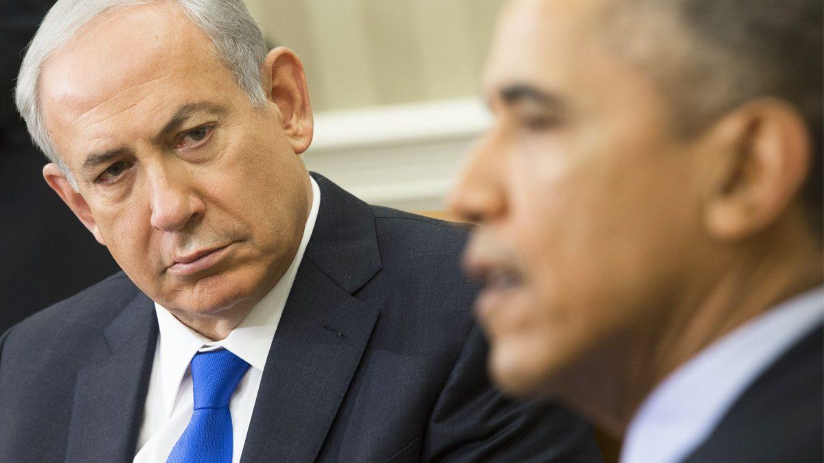 Netanyahu y Obama en la Casa Blanca en noviembre de 2015. (Foto: AFP)