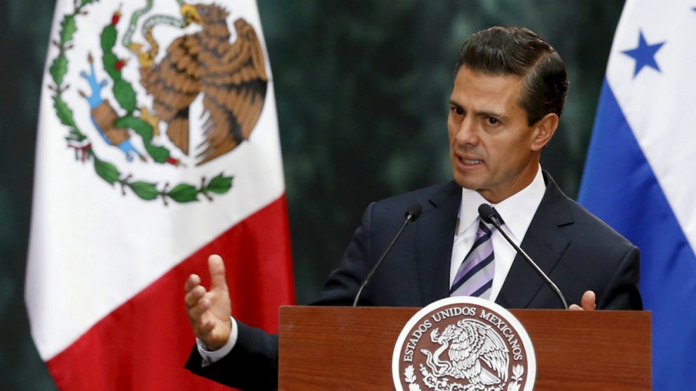 Enrique Peña Nieto, presidente de México. (Reuters)