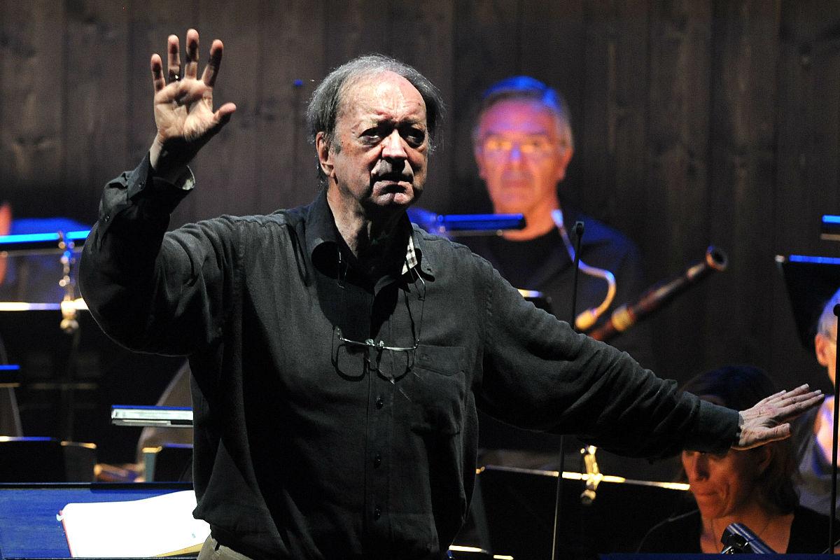 Nikolaus Harnoncourt en una imagen de 2012 (Foto: AFP).