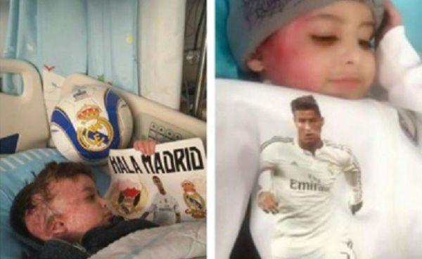 El niño superviviente al ataque terrorista a una aldea palestina cumplirá su sueño de conocer a Cristiano Ronaldo