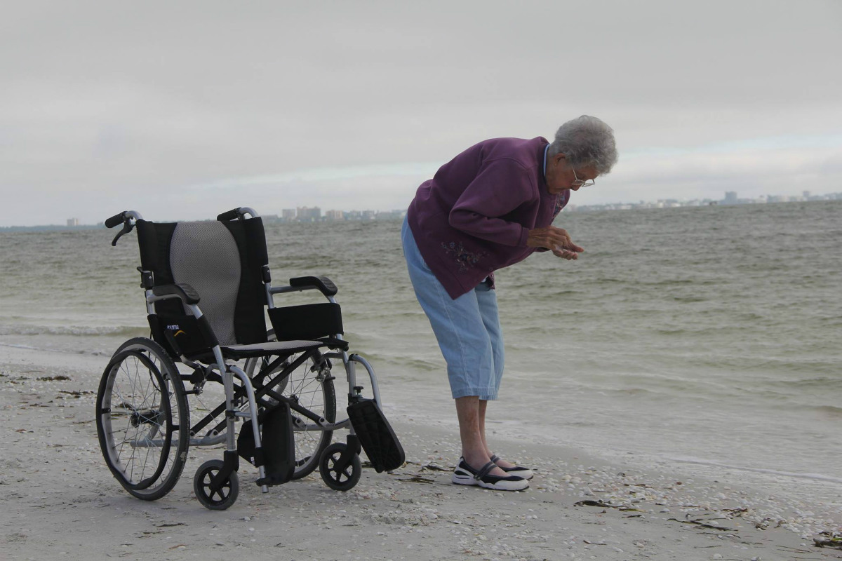 Más de uno dirán que Norma está haciendo, a sus 90 años, el viaje de su vida. (Foto: FB)