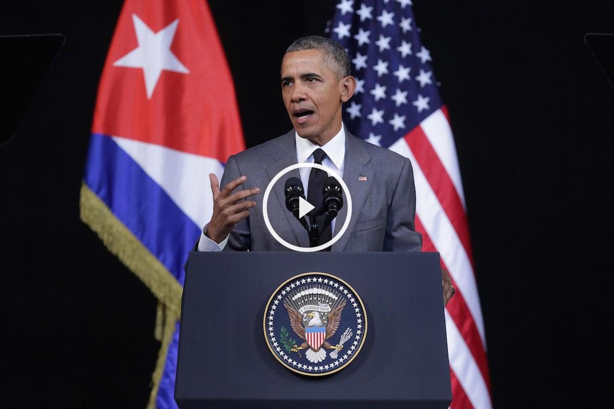 Barack Obama en Cuba (Foto: GETTY).