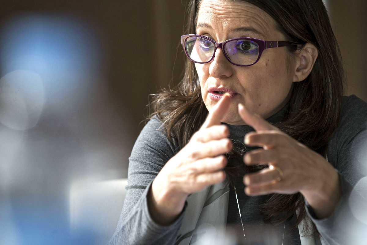 Mónica Oltra en una reciente imagen (Foto: Efe).