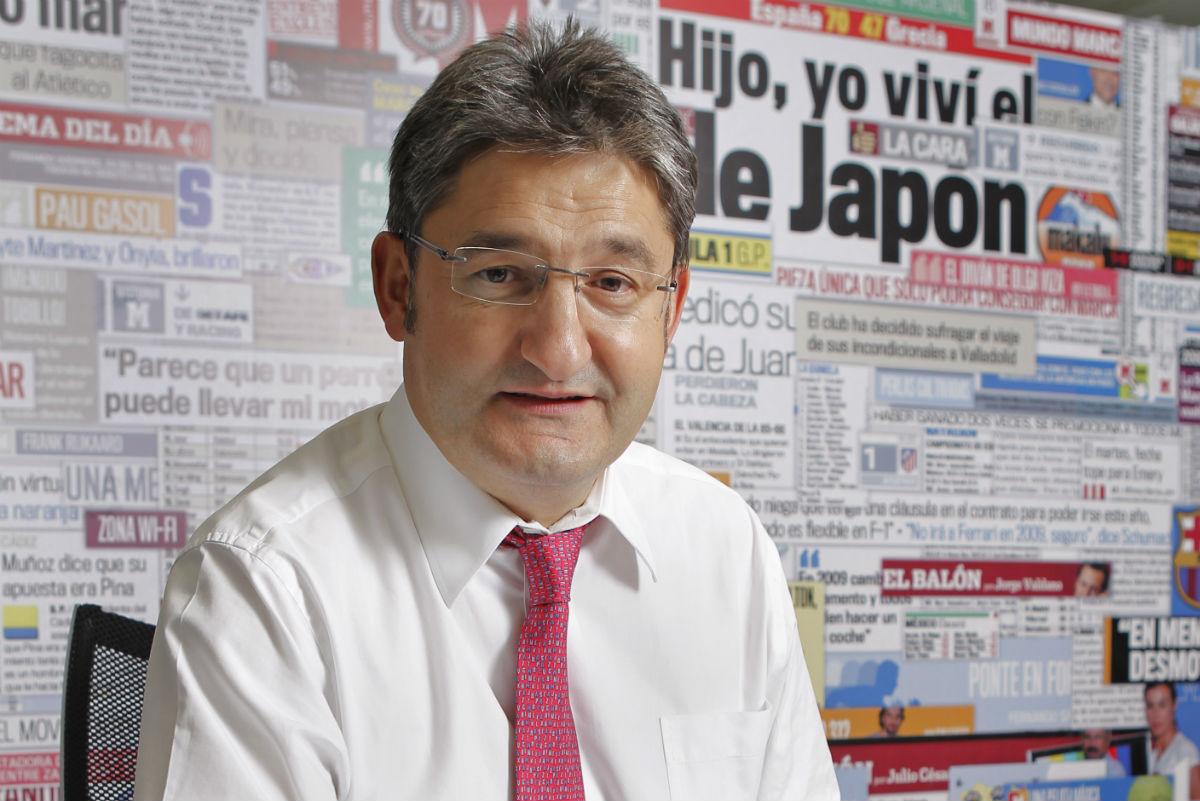 Óscar Campillo llegó a Marca en el año 2011.