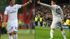 Özil y James, dos jugadores con muchas similitudes.