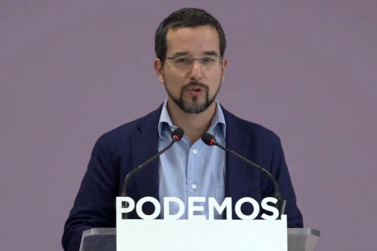 Sergio Pascual, ex secretario de Organización de Podemos.