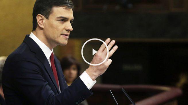 Sánchez acusa a Rajoy de bloquear la investidura y éste le responde que el debate es un engaño, un fraude y un fracaso
