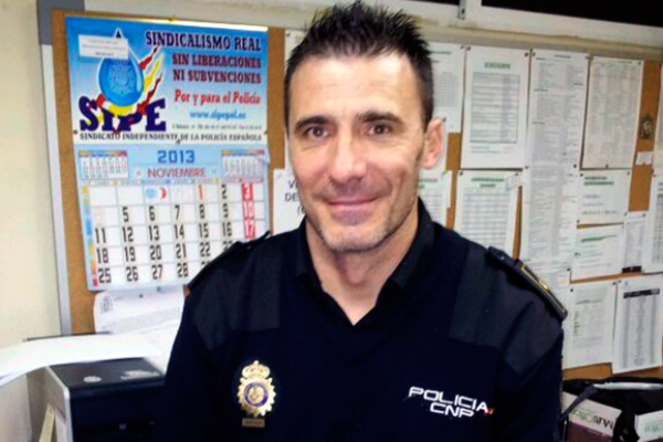 portavoz de ASP (Alternativa Sindical de Policía).
