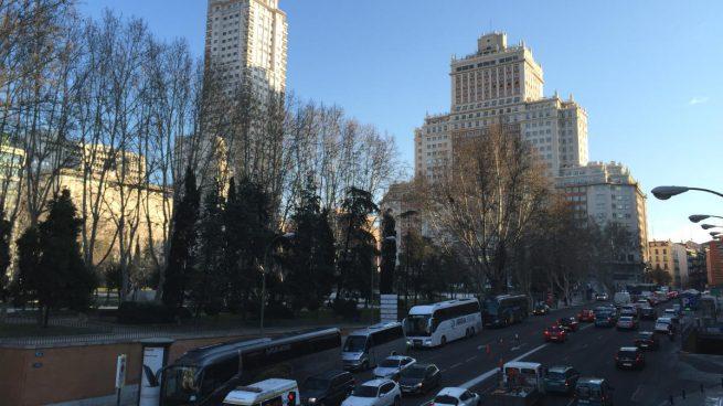 La Plaza de España de Madrid (Foto: A.J. CHINCHETRU).