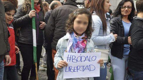Imagen colgada por Podemos Málaga en Twitter.