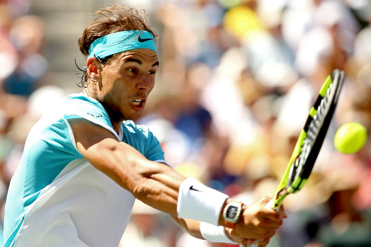 Rafa Nadal hizo un buen papel en Indian Wells. (Getty)