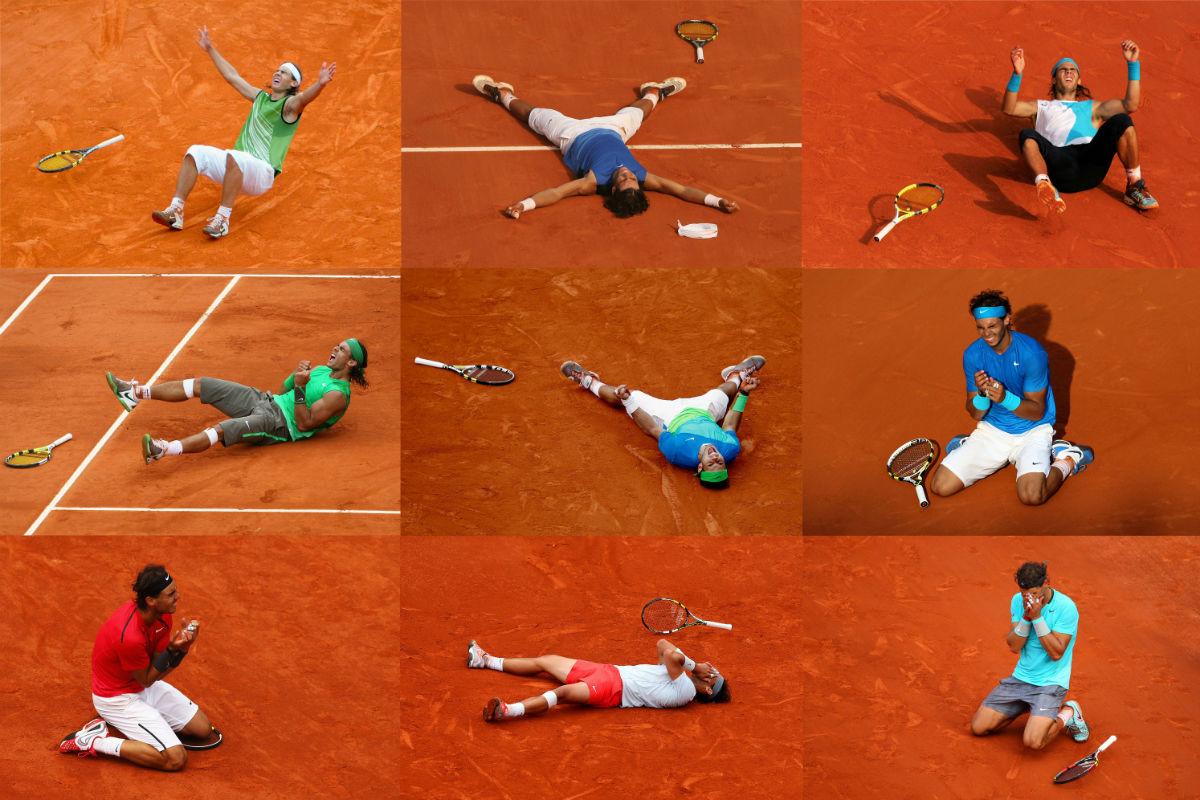 Rafa Nadal han conquistado nueve veces Roland Garros.