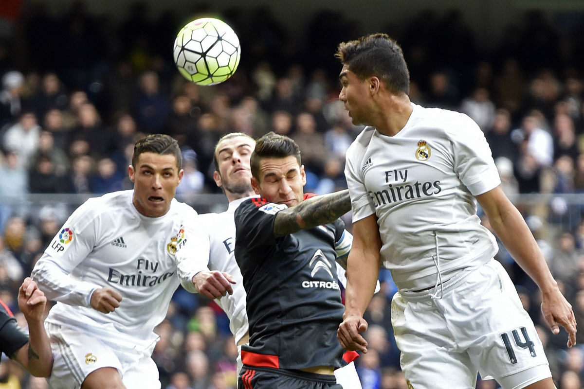 El Real Madrid de Zidane maneja a la perfección el balón parado. (AFP)