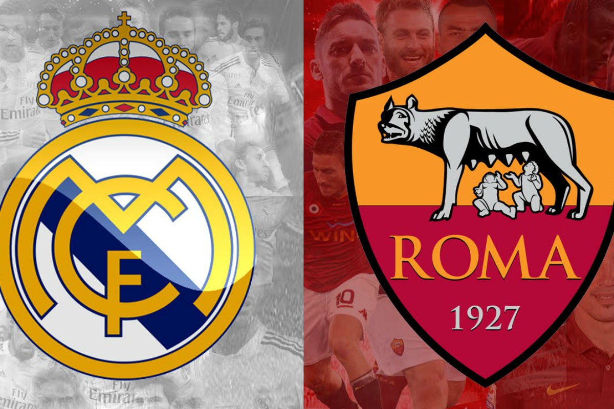 El Real Madrid recibe a la Roma en el Santiago Bernabéu.